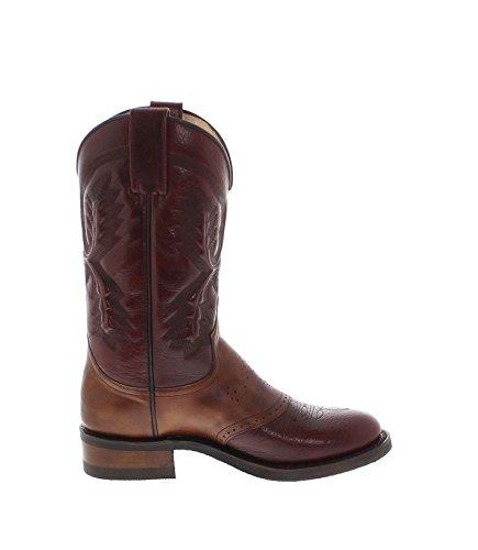 Damen Westernstiefel Cowboystiefel Volcan Sendra Boots Dunkelbraun Herren 5357 Stiefel Westernreitstiefel 8azcBq