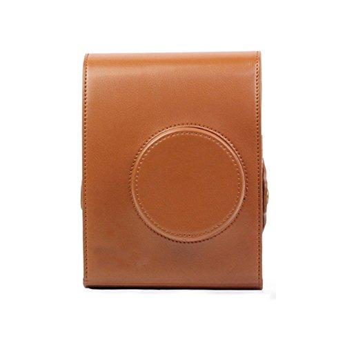 Insho Retro PU Leather Lomo Instant Camera Case Bag for Lomo