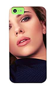 Diy iPhone 6 plus Awesome Design Blondes Women Scarle Johansson Actress Curly Hair Hard Case Cover For iPhone 6 plus(gift For Lovers)