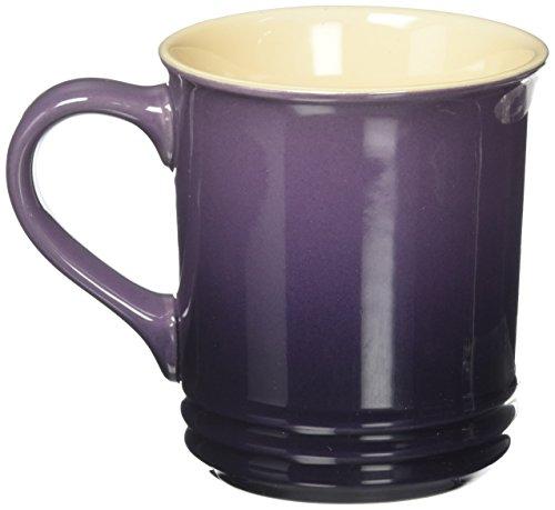- Le Creuset Stoneware 12-Ounce Mug, Cassis