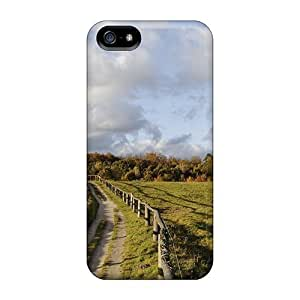 Defender Cases For Iphone 5/5s, Natural Sunny Lscape Pattern