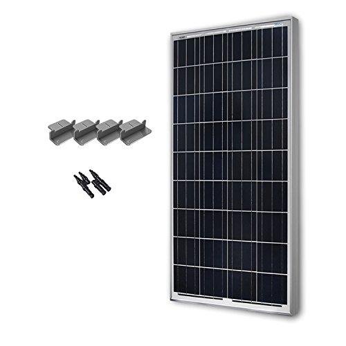 RENOGY 100 Watts 12 Volts Polycrystalline Solar Expansion Kit