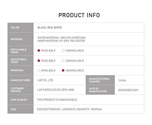 Daniels Limited LAP Line Pick Kang Red Lettering Mini Edition Bag Pocket PffTq5W