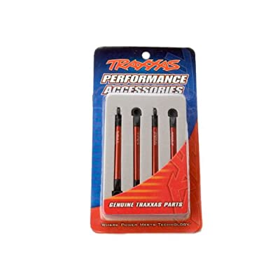 Traxxas 7118X Red-Anodized Aluminum Push Rods (set of 4): Toys & Games