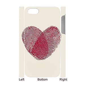 Diycase 3D Bumper Plastic case cover Of Love Pink customized case cover For Iphone yBxnlczxtC9 4s