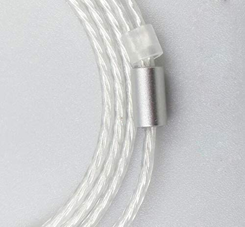 Micity Replacement High Transparency Cable Cord Wire for Audio Technica ATH im50 im70 im01 im02 im03 im04 Headphones