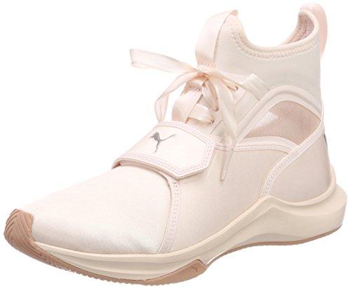 Fitnessschuhe Pearl Damen Puma Ep Satin Pink WN's Phenom nOFxXTXa