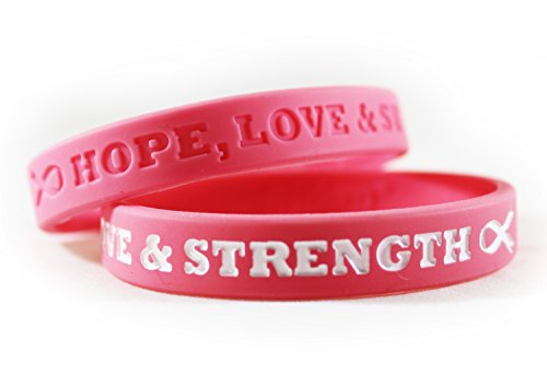 Cancer Awareness Bracelets With Saying Of