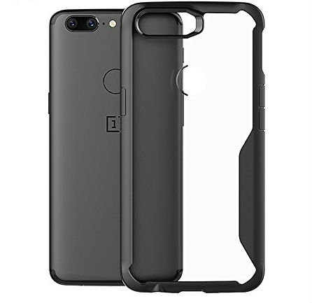 hot sale online 26556 d8265 Annure 360 Protection Shockproof Armor Back Cover Case for OnePlus 5T  (Black)