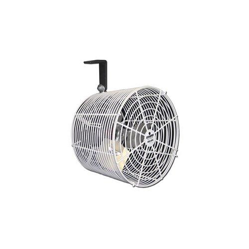 SCHAEFER VK12-CK Cattle Kooler Circulation Fan, Cord, Special Mount, Blade Material: Aluminum, 1/10 hp, 12''