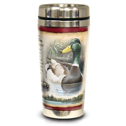 Wildlife Ducks (American Expedition Wildlife Steel Travel Mug (Mallard)