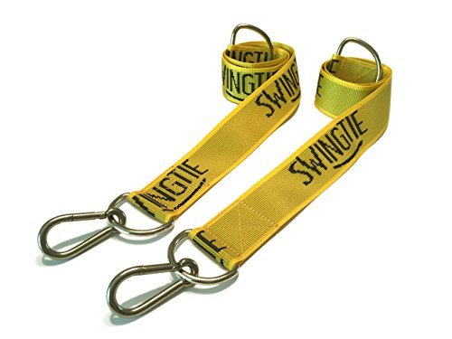 Surf Swing (The Original Swing Tie - Easy & Fast Swing Hanger Installation to Tree (Set of 2 Tree Hanging Swing Straps))