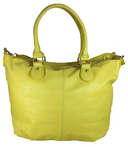 Amtal Women Large Oversized Color Block Shoulder Tote Hobo Style Handbag (Block Handbag)