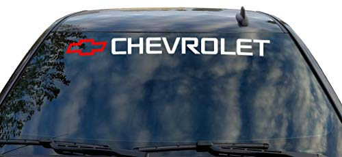 car window decals chevy - 4