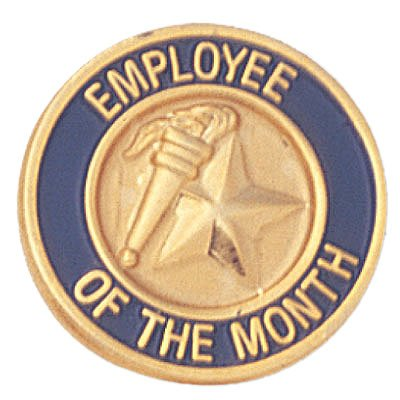 amazon com employee of the month lapel pin pack of 10 office