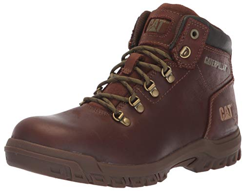 (Caterpillar Women's Mae Steel Toe Waterproof Construction Boot, Cocoa, 7 M US)