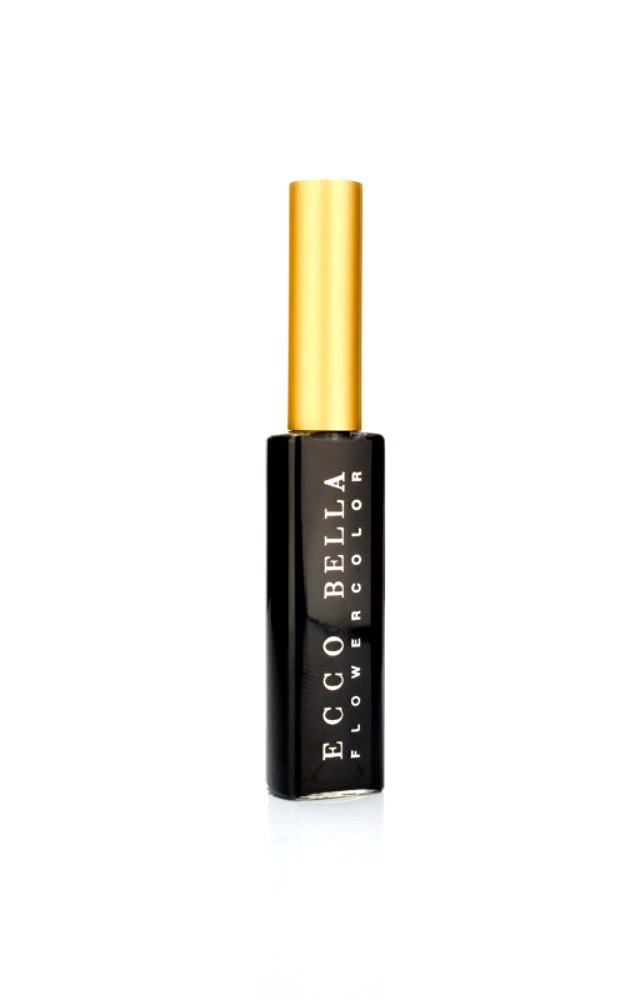 All Natural Mascara by Ecco Bella - FlowerColor Formula Perfect for Sensitive Eyes - Vegan, Gluten-, Fragrance-, and Paraben-Free