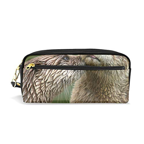 Multifunction Durable Cosmetic Bag North American River Otter