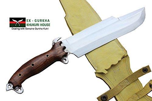 "10"" Blade Predator Survival Machete Military Kukri Knife - Full Tang Hand Forged Khukuri or Khukris Handmade By Ex Gurkha Khukuri House in Nepal"