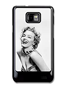 Marilyn Monroe fits Samsung Galaxy S2 S2 Plus Case Grayscale