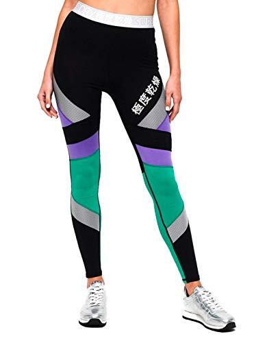 Verde Leggings Superdry Mujer Sport Negro Y v7OWIqO