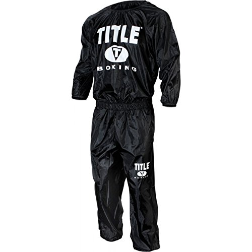 TITLE Boxing Super Nylon Sweat Suit, Heavyweight