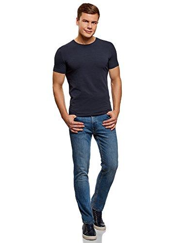Uomo pacco T Senza Multicolore 1907n Oodji Basic Di Ultra Etichetta shirt 2 E0ZwwU5xq