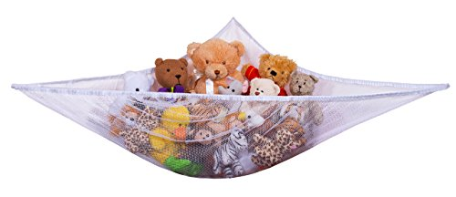 Jumbo Toy Hammock - Organize stuffed animals or children's toys with the (Stuffed Animal Hammocks)