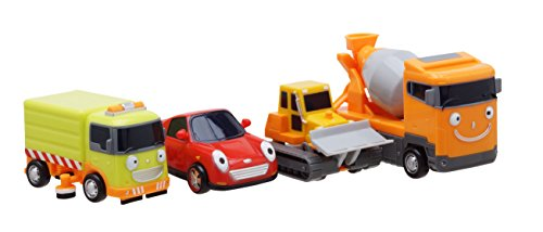 (Little Bus TAYO Friends Special Mini 4 Pcs No.3 Toy Set (Ruby + Chris + Speed + Billy))
