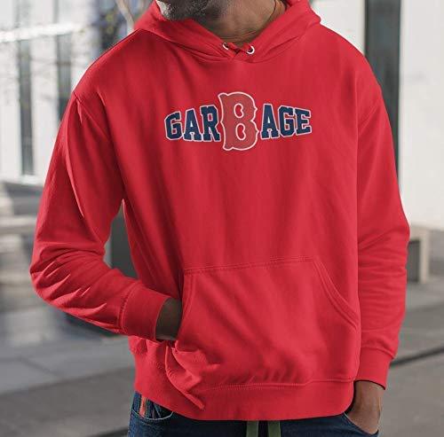 Garbage Red Baseball Jersey Customized Handmade T-Shirt Hoodie/Long Sleeve/Tank Top/Sweatshirt