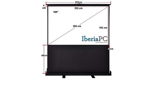 IberiaPC - Pantalla Proyección Suelo de 100 y formato 4: 3 de 2030 ...