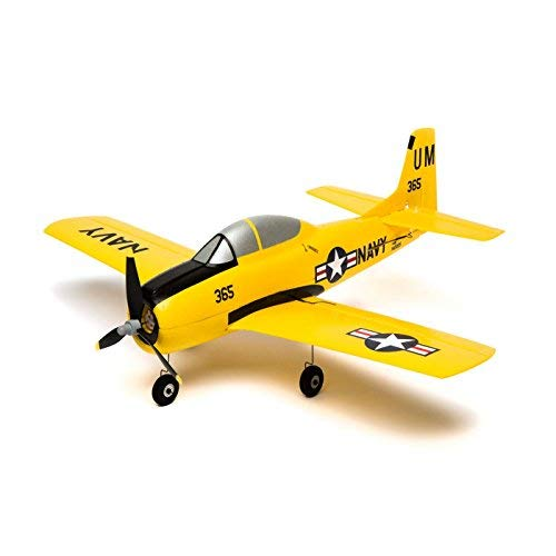 HobbyZone T-28 Trojan S Bind-N-Fly BNF Basic RC Airplane with SAFE (Transmitter Sold Separately) ()
