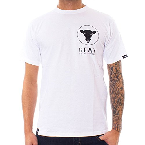 CAMISETA GRIMEY BLACK SHEEP FW15 WHITE M