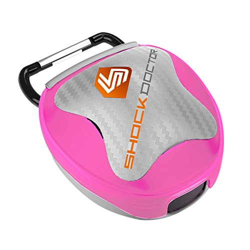 Field Hockey Bag (Shock Doctor  Mouthguard Case (Transparent Pink))