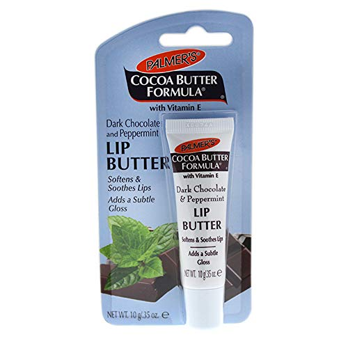(Palmer's Cocoa Butter Formula Lip Butter, Dark Chocolate and Peppermint, 0.35 Ounce)