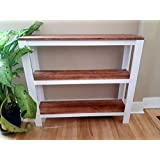 3 Tier Console Table/Hall Table - Solid Wood, Modern Country Style
