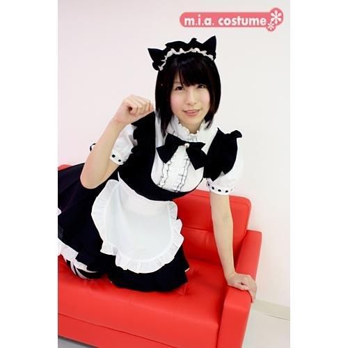 Mia Costume Japan Cat Maid Costume Color Black Size: Big (US Women's L Size) - Mia Costume Japan