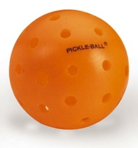 Athletic Specialties Pickle Ball Plastic Baseball, Box of 60 (Orange) by Athletic Specialties