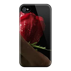 Diy For Samsung Galaxy S6 Case Cover - Eco-friendly Retail Packaging(red Rose Lips)