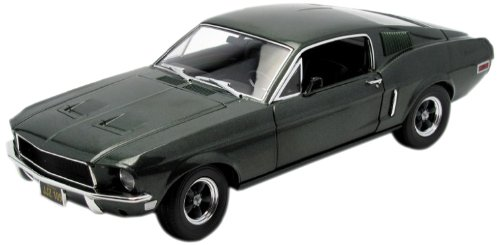 Fastback Trunk - GreenLight 1:18 Bullitt/Steve McQueen (1968) - 1968 Ford Mustang GT Fastback - Highland Green