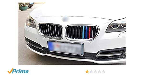 Fit BMW X5 2014 2015 2016 Auto Front Grill Grille Cover Trim Stainless Steel