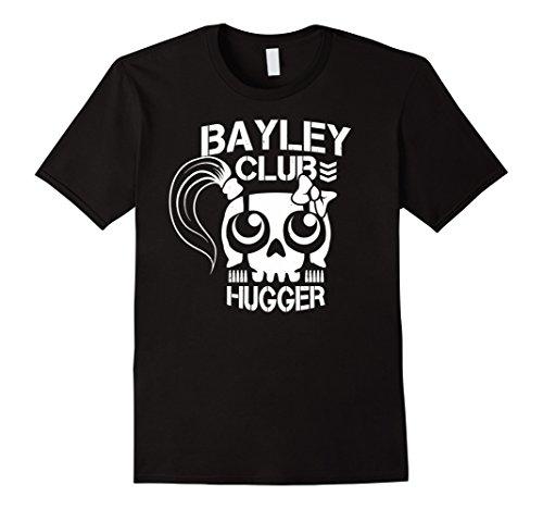 Hugger Black T-shirt (Men's Bayley Club Tshirt - Bayley Club Hugger Tshirt Large Black)