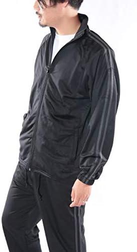 (スコーネ) SKKONE ジャージ メンズ 上下セット トリコット ゆったり ブラック ホワイト グレー レッド ネイビー ブルー ジャージ上下 トラックスーツ フィットネスウェア ランニングウェア トレーニングウェア スポーツウェア