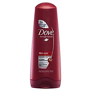 Dove - Hair therapy, acondicionador anti edad, 200 ml
