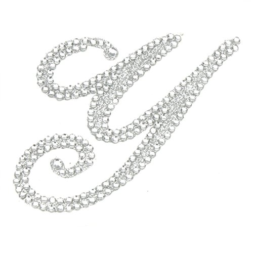Price comparison product image Rhinestone Alphabet Monogram Stickers Letter Initial Wedding Favor Invitation (Letter Y)