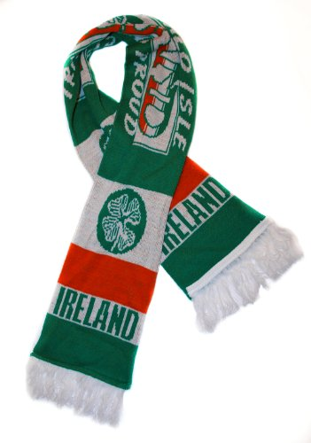 Ireland National Soccer Team | Premium Fan Scarf | Ships from USA