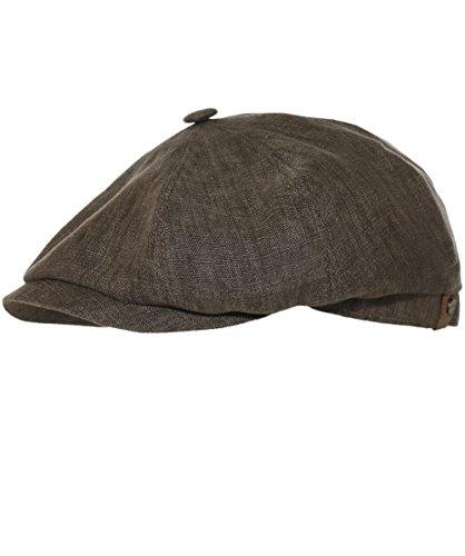Stetson Men's Linen Hatteras Newsboy Cap 59cm ()