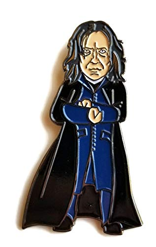 Harry Potter Alan Rickman as Prof. Snape Licensed FanSets Pin MicroMagic