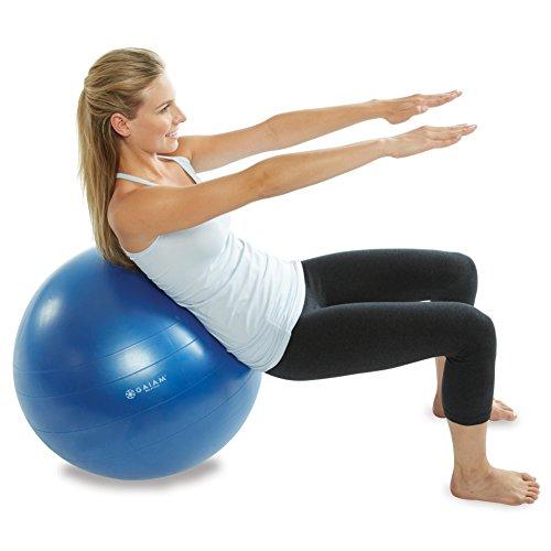 Balance Ball Dvd: Gaiam Total Body Balance Ball Kit