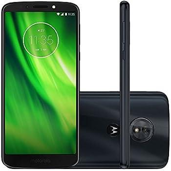 "Motorola Moto G6 Play Dual Sim 32GB XT1922-5 Pantalla Max Vision de 5.7"" Full HD+ Libre de Fabrica, Azul Indigo"